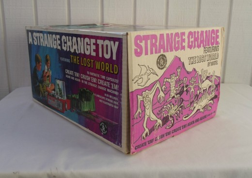 Strange Change Toy : Mattel the strange change machine lost world hubpages