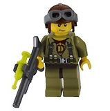 Hero Minifigure from LEGO Dino Tower Takedown 5883