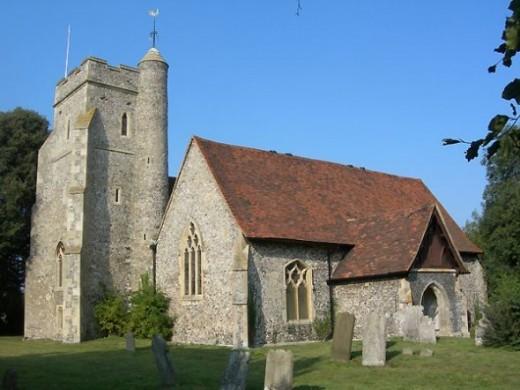 Church of St John the Baptist, Sutton-at-Hone, Kent