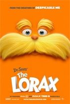 Lorax Movie Promotional Poster available on Amazon.com