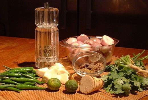 Thai Green Curry Ingredients by FotoosVanRobin