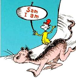 Sam I Am - Illustration Art - Dr. Seuss - Lithographs