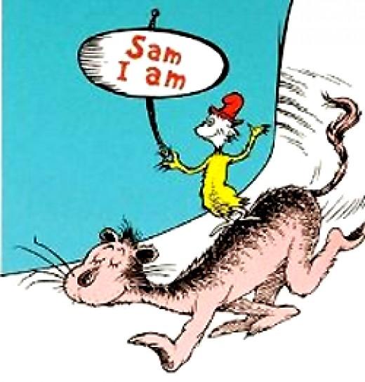 Sam I Am - Illustration Art - Dr. Seuss - Lithographs