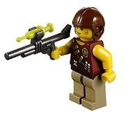 Hero Minifigure from LEGO Dino Ambush Attack 5882