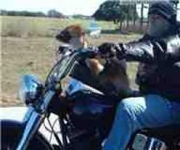 Boo Boo & Daddy Riding Hard
