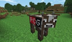 PCGamer skin for the cow!