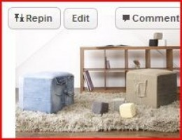 http://www.ecouterre.com/7-unexpected-ways-to-recycle-old-denim-jeans/noyes-recycled-denim-stools/