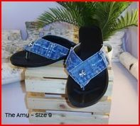 http://www.artfire.com/ext/shop/product_view/denimlover56/1030326/recycled_blue_jean_denim_flip_flop_sandal_womens_size_8___the_amy/handmade/clothing/shoes/flip_flops