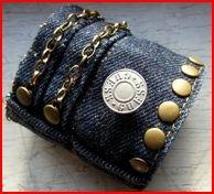 http://www.etsy.com/listing/91923170/denim-chains-cuff