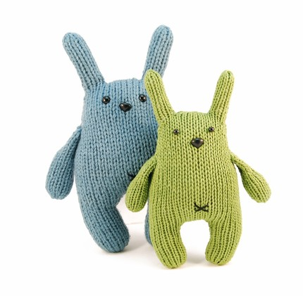 Dangercrafts Chester the Bashful Bunny Knitting Pattern