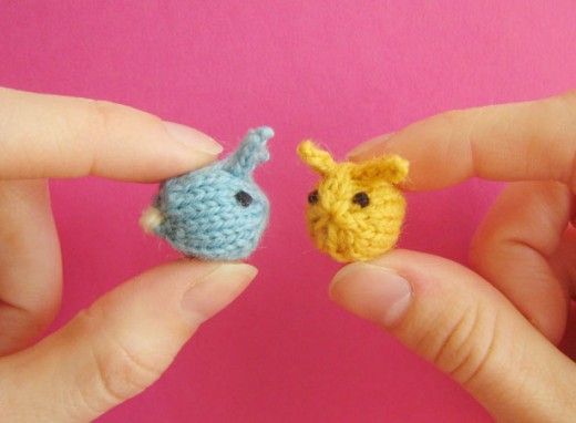 Mochimochiland Tiny Bunnies Free Knitting Pattern