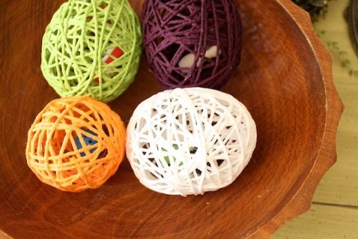 Yarn Egg Surprise