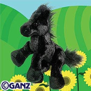 Webkinz Black Stallion