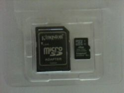 MicroSD Card and SD Adapter
