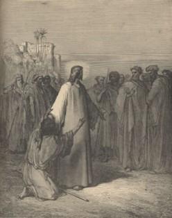 Dore's Jesus Heals Dumb Man