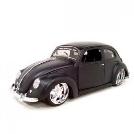 1951 VW BUG  http://diecastcar.blogspot.com/2007/12/1951-vw-volkswagen-bug-black-primered.html