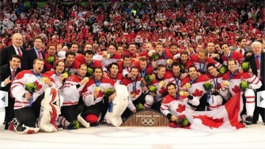 Team Canada's Gold At The 2010 Vancouver Olympic