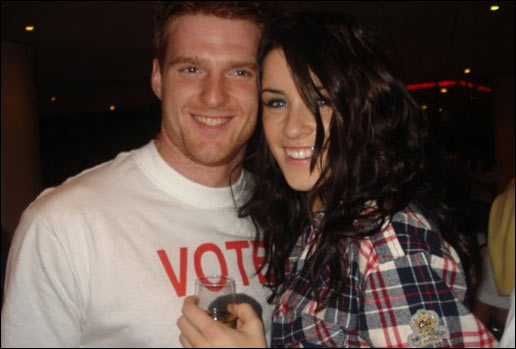 Lucie Jones' boyfriend Richard Jaycock