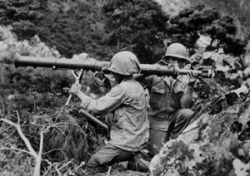 Korean War Soldiers with Launcher