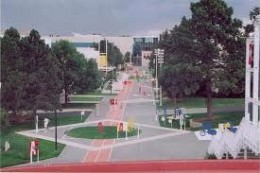 View of the US Olympic Training Center