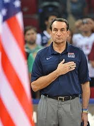 "Coach ""K"", USA Mens Basketball"