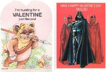 Star Wars Valentines Set
