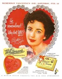 Whitman's Candies Advertising Valentine