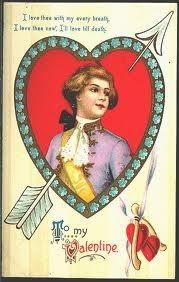 Winsch Schmucker Valentine Postcard