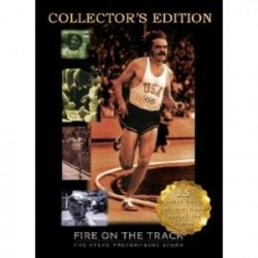 DVD Promo Cover for Fire on the Track
