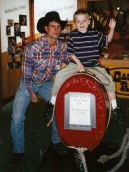 Bull Riding at Buffalo Bill!