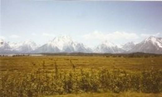 Grand Teton National Park Mountain Range