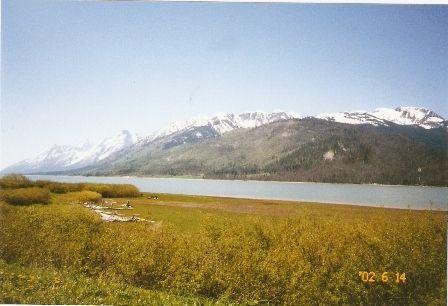 String Lake - Teton Mountain Range View