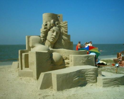 Tossens Sand Art Festival