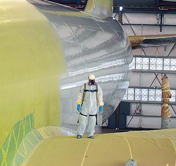 Aircraft Paint Facility