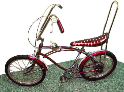My first boyfriend had a bike like this. He was so cool (I thought)