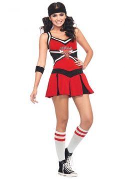 chicago bulls cheerleader costume