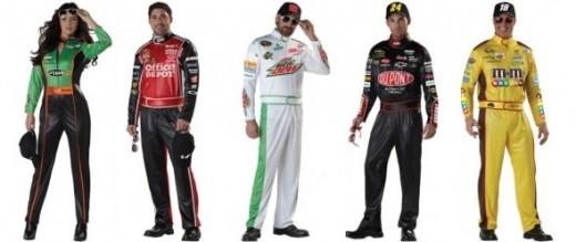new 2012 NASCAR costumes