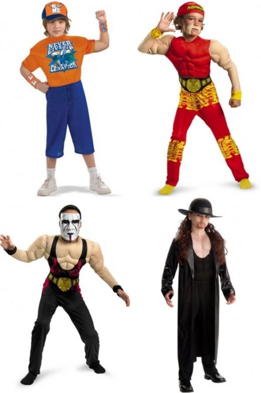 wrestler costumes
