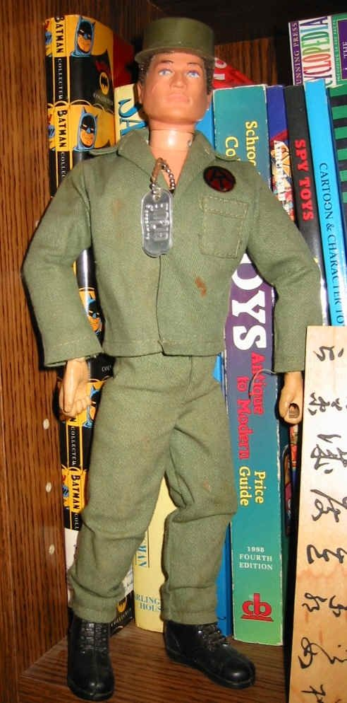 G.I. Joe. In our world he was Barbie's boyfriend. Poor guy. He didn't make it out of the toybox.