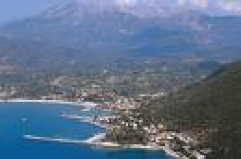 Panoramic view of Vassiliki