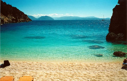 Peace at Aghios Fili beach near Vassiliki