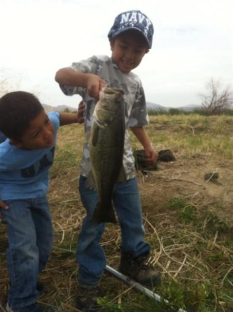 A friends son and nephew on free fishing day. They look pretty jazzed about that catch.