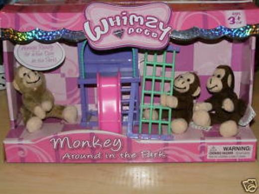 whimzy monkey playset