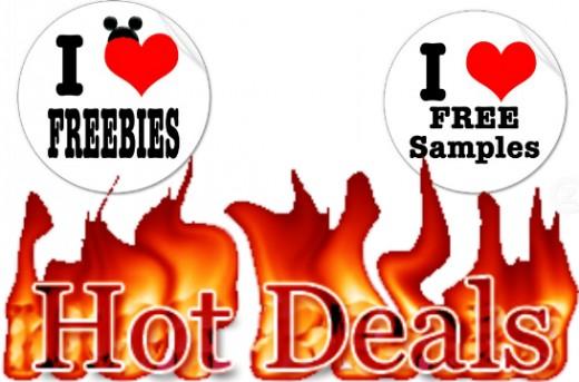 Deals, Freebies & Samples