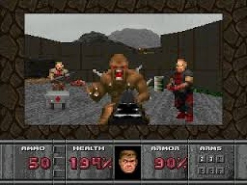 Doom is a classic game that was remade for the Sega 32X. As a heavily armed Marine you must battle past demons and monsters in order to prevail.