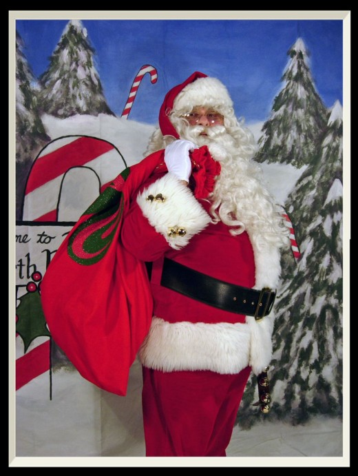 His Address Santa Claus North Pole Alaska  99705 Letters are not answered but all are read by the Jolly Old Elf himself. He gets hundreds of thousands of letters a year at this address. So yes your kids can write to Santa Claus.