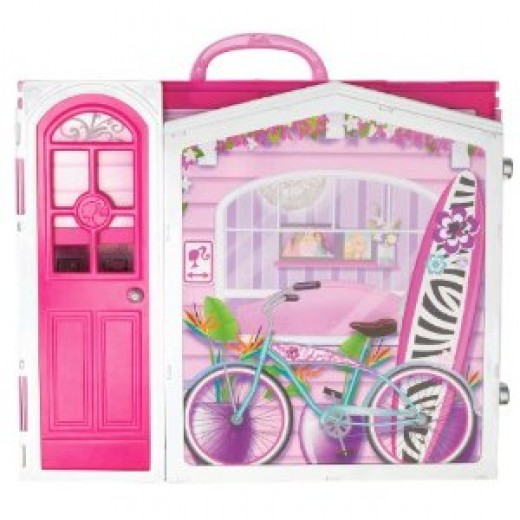 Folded Barbie Vacation Home