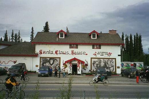 Santa's House In Summer