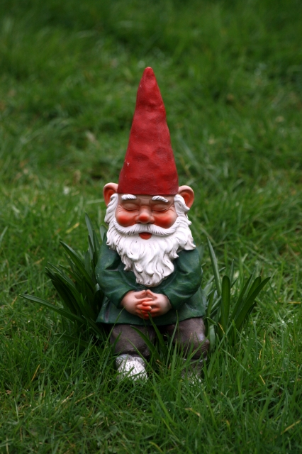 A single garden gnome per acre will make your lawn happier