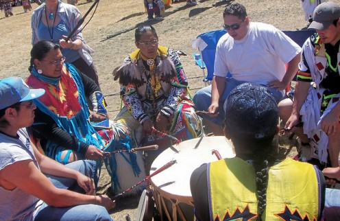 Native American Drum Circle
